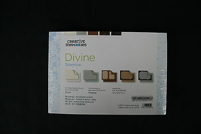 Creative Memories DIVINE Story Box   96 Double-sided cards in one box,B/New
