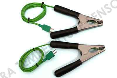 Pipe clamp temperature probe x2 for all HVAC applications(genuine Kane product)
