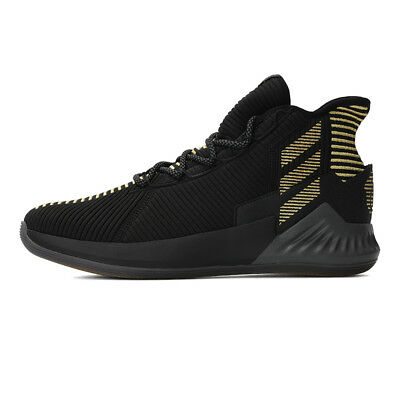 new style 4c8b7 eabf0 adidas D Rose 9 BB7657 Basketball Men Shoes Black Gold Bulls Timberwolves  NEW DS