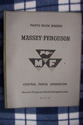 Massey Ferguson / Perkins A4-107 Engine Parts Book. Mf130 Tractor.