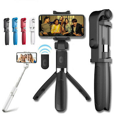 Wireless Selfie Stick Tripod Remote Extendable Monopod for iPhone X Xs Samsung