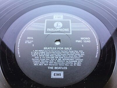 The Beatles - Beatles For Sale - MONO LP PMC1240 1995 Remastered Unplayed !
