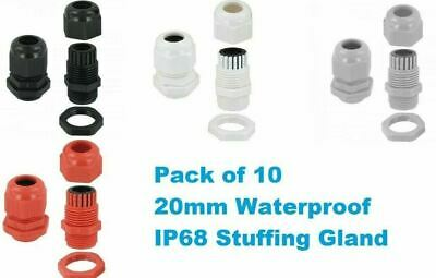 20Mm Waterproof Ip68 Compression Skintop Cable Stuffing Glands Locknut Large