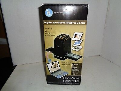 Film And Slide Digital Converter By Innovative Technology, New In Box