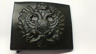 Wwi Ww1 Austrian M1909 Austro- Hungarian Enlisted Belt Buckle - Free Postage
