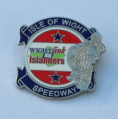 Isle Of Wight Speedway Badge 2009