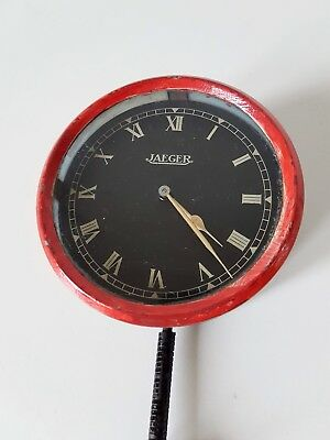 Vintage Original British Jaeger Automobile Clock
