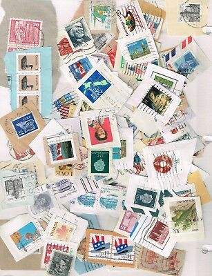 Mixture of more than 100 stamps mostly common on paper. Free shipping worldwide.