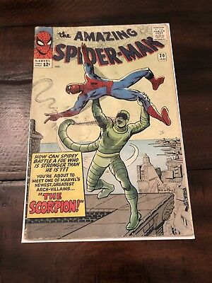The Amazing Spider-Man #20; Incomplete