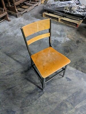 UHL Furniture Toledo Metal Furniture Vintage Wooden Chair