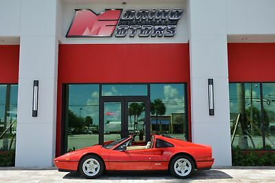 1986 Ferrari 328 GTS 1986 328 GTS - 10k MILES - EUROPEAN SPEC - ONLY 2 OWNERS - ALL ORIGINAL