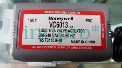 Applicable Honeywell central air conditioning fan solenoid valve VC6013DN20