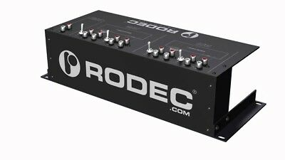 RODEC PATCH LIVE Multi-DJ Connection Patch Panel for Serato or Traktor DVS