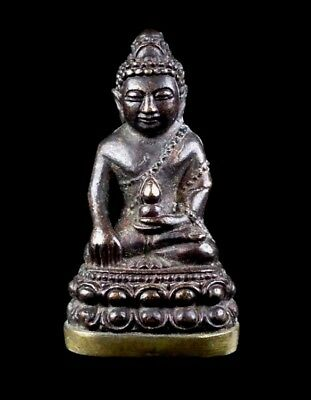 Thai Amulet Buddha PHRA KRING LP liw Buddhist art antique (Bell inside)