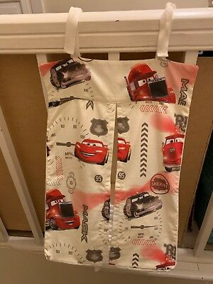 Disney Cars Nappy Stacker Handmade straps new