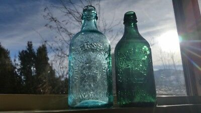 Lot of (2) NICEearly Mineral Spring Water Bottles….