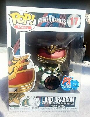 Funko Pop! Power Rangers PX Exclusive Lord Drakkon MINT In-Hand