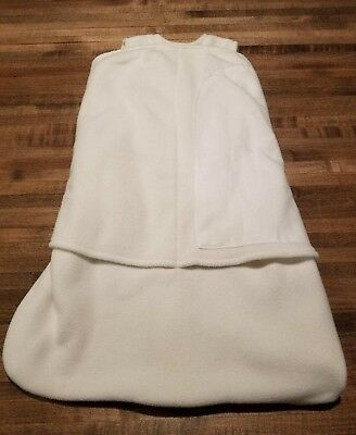 Halo Sleep Sack Swaddle Newborn (birth-3 months). Off-white/cream.