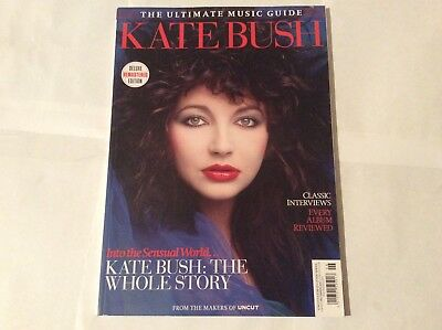 Kate Bush The Whole Story Ultimate Music Guide by Uncut magazine - interviews
