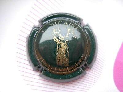Capsule champagne Nicaise Louis vert et or