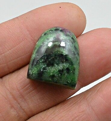 36.83 Ct Natural Ruby Zoisite Fancy Cabochon Loose Gemstone