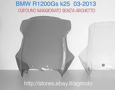 cupolino bmw r 1200 gs Parabrezza Alto Scuro Windshield Dark Windscreen