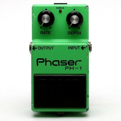 BOSS PH-1 Phaser Silver Screw S/N 6700 Transparence Switch Effect Pedal MIJ
