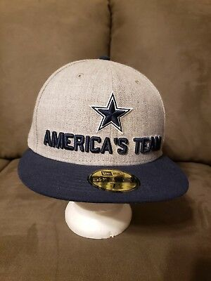 NFL DALLAS COWBOYS New Era Men s 18  Draft On Stage Fitted Hat ... 11dce1999