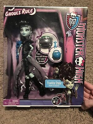 Monster High Ghouls Rule Frankie Stein Doll New In Box