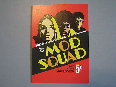 Topps 80Th Anniversary Wrapper Art 1969 Mod Squad Trading Card