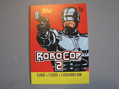 Topps 80Th Anniversary Wrapper Art 1990 Robocop 2 Trading Card