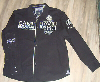 detailed images outlet store usa cheap sale ○✿○ CAMP DAVID Hemd/Regular Fit Nautical Crew /Cape Horn ...