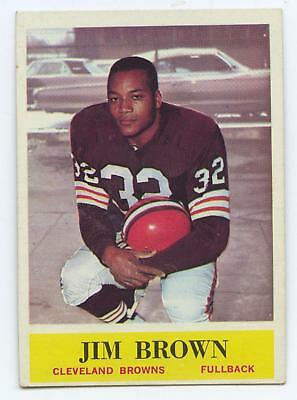 1964 Topps Cleveland Browns Jim Brown #30 Football Card NM