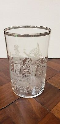"American Brewing Ass""n Dixie Pale Beer Pre-Pro Etched Glass - Houston, Texas"