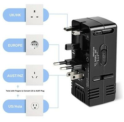 TryAce 1875W Universal Travel Adapter and Converter Combo 240V to 110V , Voltage