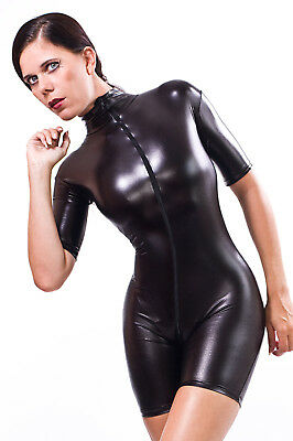 Catsuit Overall Gothic Lacquer/Latex Look