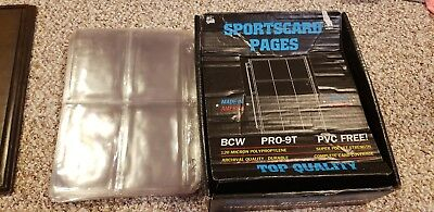 Sportscard Pages BCW Pro-9t