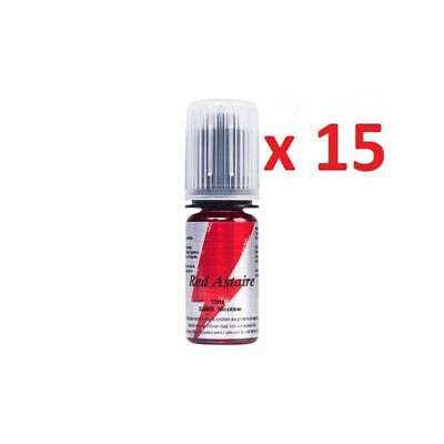 ★★ RED ASTAIRE Lot de 15 X E-LIQUIDE 10 ml T-JUICE 0 mg 3 mg 6 mg 12 mg 18 mg ★★