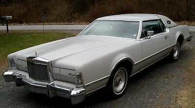 1976 Lincoln Mark Series Cartier Bicentennial Edition 1976 Mark IV Cartier Coupe 46k All Orig,2 Owners,Dove Gray/Light Gray A Beauty!