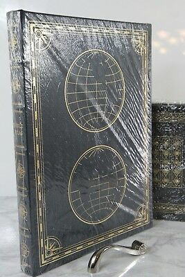 OXFORD ATLAS OF THE WORLD - Easton Press - HUGE BOOK  SEALED w/BOX