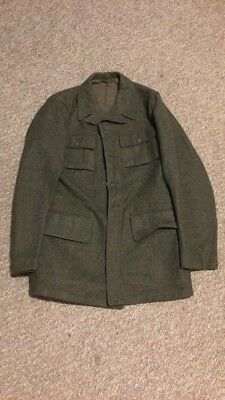 Swedish Army WW2 1944 Wool Tunic 40 Chest 33 Sleeve Great Condition