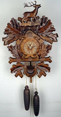 Black Forest, 8 Day  'Regula' Mechanical  Large Cuckoo Clock, New
