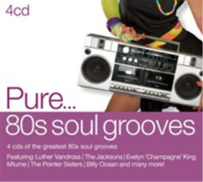 Various Artists-Pure... 80s Soul Groove (US IMPORT) CD / Box Set NEW