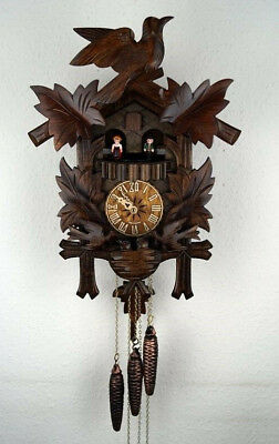 Black Forest 'Regula' Mechanical Musical with Moving Birds Cuckoo Clock, New