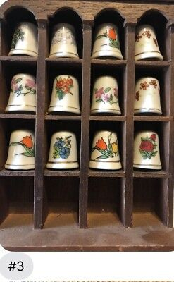 thimble collection lot