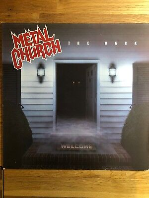 Metal Church - The Dark  - Vinyl LP - Jahr: 1986