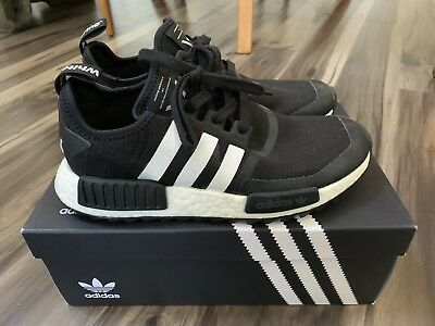 quality design 34ac1 912f2 ADIDAS NMD R1 Trail White Mountaineering - Core Black - US Mens 8.5 BA7518