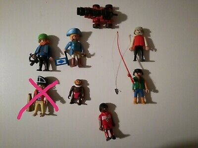 Lotto Playmobil vintage (personaggi, pirati, accessori, ecc)