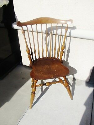 Signed Wallace Nutting Windsor Style Side Chair