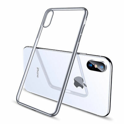iPhone XS MAX Case Shock Proof Crystal Clear Soft Silicone Gel Bumper Cover Slim